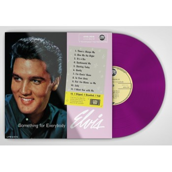Elvis Presley - 33 Tours - Something For Everybody (Vinyle Rose)