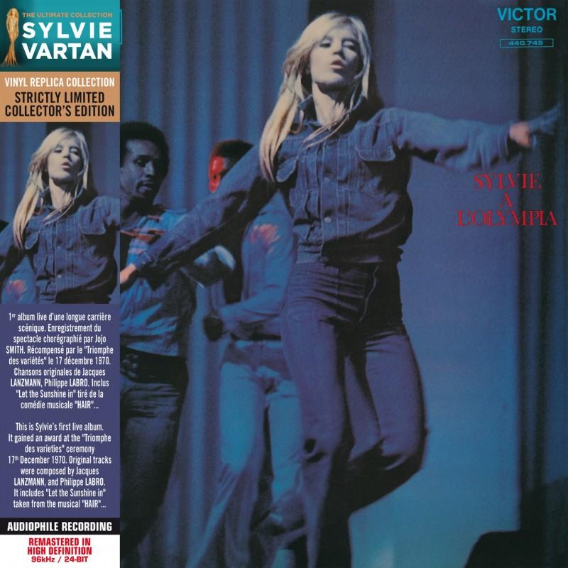 Sylvie Vartan - A L'Olympia (1970) (CD Vinyl Replica)