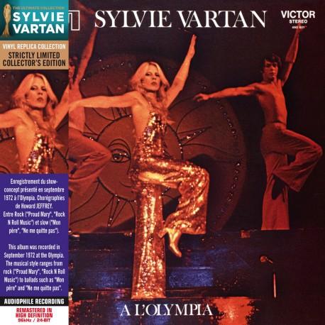 Sylvie Vartan - A L'Olympia 1972 (CD Vinyl Replica)