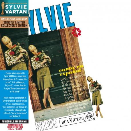 Sylvie Vartan - Canta En Español (CD Vinyl Replica)