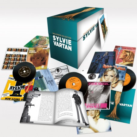 Sylvie Vartan - The Ultimate Collection (10 CD Vinyl Replica)