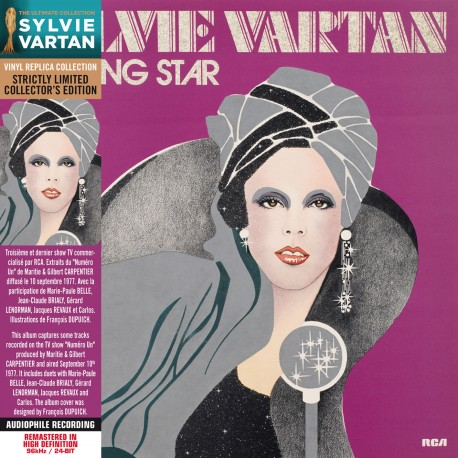 Sylvie Vartan - Dancing Star (CD Vinyl Replica)