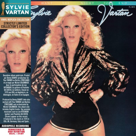 Sylvie Vartan - I Don't Want The Night To End (CD Vinyl Replica)