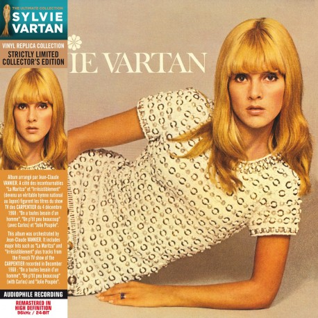 Sylvie Vartan - La Maritza (CD Vinyl Replica)
