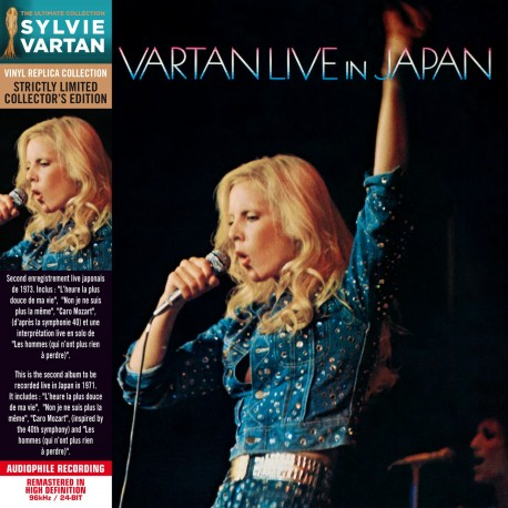 Sylvie Vartan - Live in Japan (CD Vinyl Replica)
