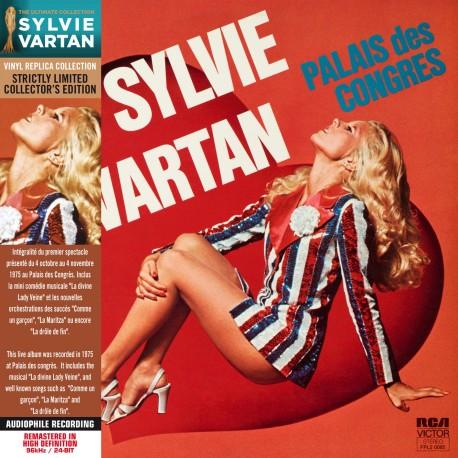 Sylvie Vartan - Palais Des Congrès '75 (CD Vinyl Replica)