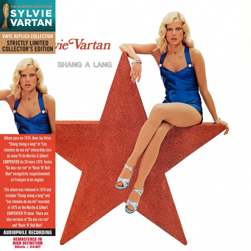 Sylvie Vartan - Shang Shang A Lang (CD Vinyl Replica)