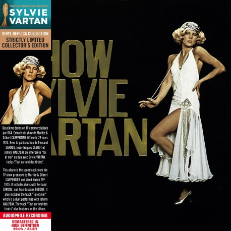 Sylvie Vartan - Show Sylvie Vartan (CD Vinyl Replica)