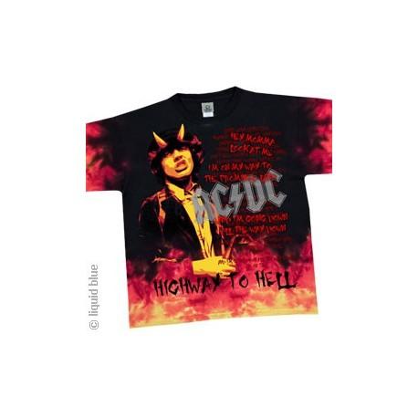 T-SHIRT - AC/DC  Hell