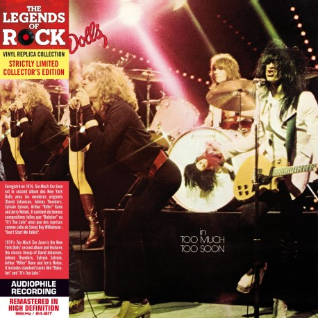 The New York Dolls - Too Much Too Soon