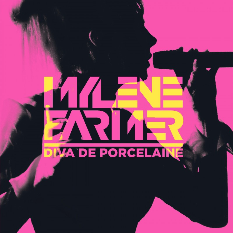 Couverture Livre Mylène Farmer - Diva De Porcelaine