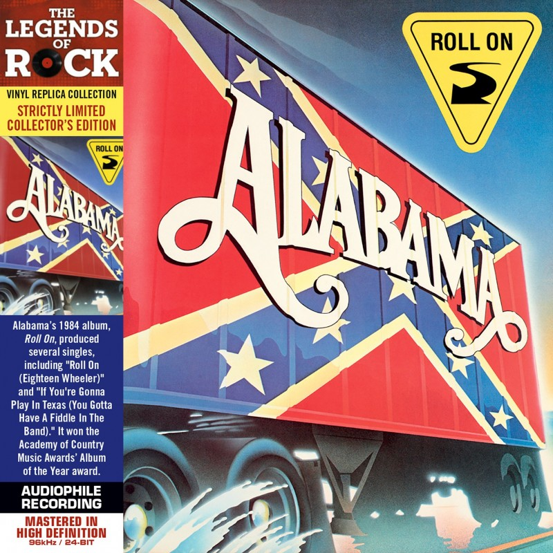 Alabama - 40 Hour Week - Vinyl Replica Deluxe