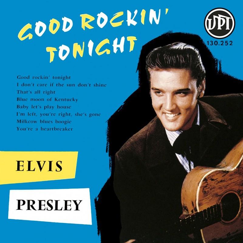 Elvis Presley - 33 Tours - Good Rockin' Tonight (Vinyle Bleu)