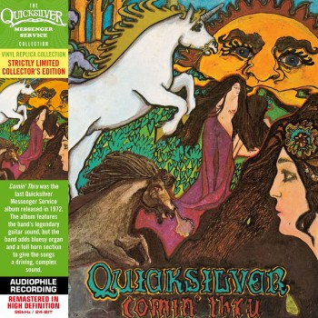 CD - Quicksilver Messenger Service  - Comin' Thru