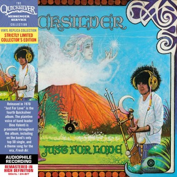 CD - Quicksilver Messenger Service  - Just For Love