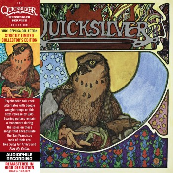 CD - Quicksilver Messenger Service  - Quicksilver