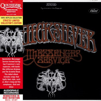 CD - Quicksilver Messenger Service  - Quicksilver Messenger Service