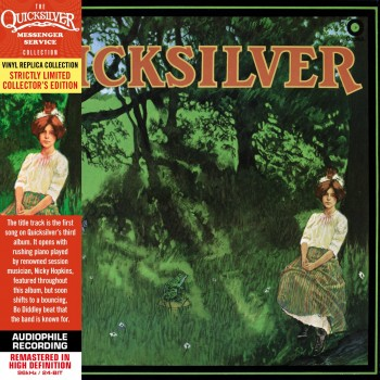 CD - Quicksilver Messenger Service  - Shady Grove