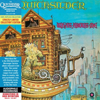 CD - Quicksilver Messenger Service  - What About Me