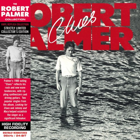 CD - Robert Palmer - Clues