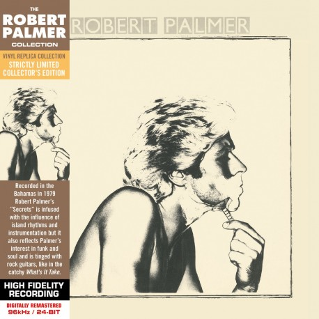 CD - Robert Palmer - Secrets