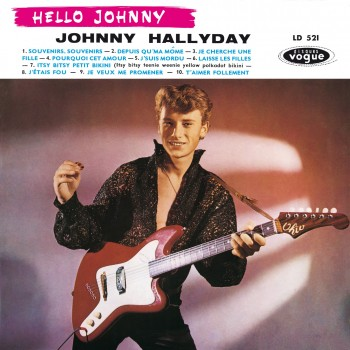 Johnny Hallyday - LP N°01 - Hello Johnny (CD Vinyl Replica)