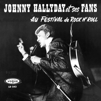 Johnny Hallyday  - LP N°02 - Au Festival Du Repertoire Français 'N' Roll  (CD Vinyl Replica)