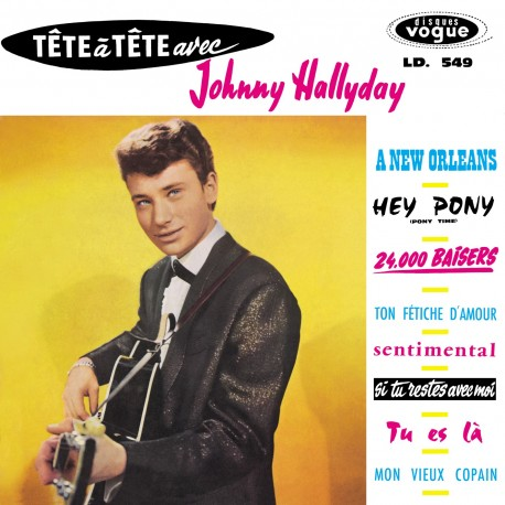 Johnny Hallyday  - LP N°03 - Tête À Tête Avec Johnny Hallyday (CD Vinyl Replica)