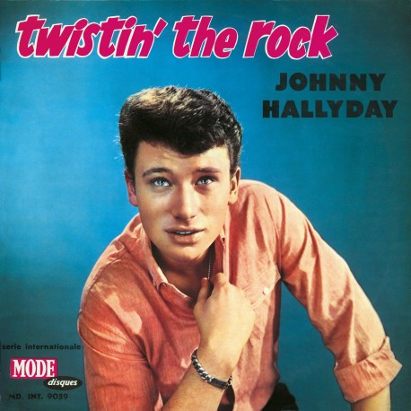 Johnny Hallyday  - LP N°06 - Twistin' The Rock (CD Vinyl Replica)