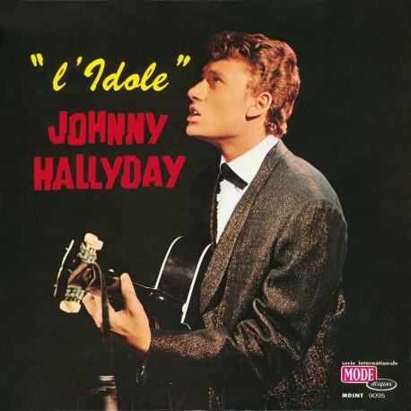 Johnny Hallyday  - LP N°08 - L'idole - Paper Sleeve (CD Vinyl Replica)