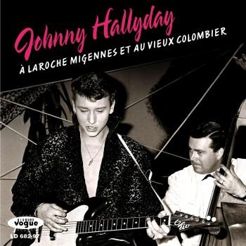 Johnny Hallyday  - LP N°09 - À Laroche Migennes Et Au Vieux Colombier (CD Vinyl Replica)