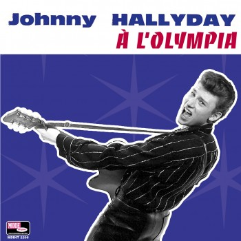 Johnny Hallyday  - LP N°10 - À L'Olympia (CD Vinyl Replica)