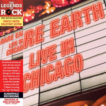 CD - Rare Earth - Live In Chicago