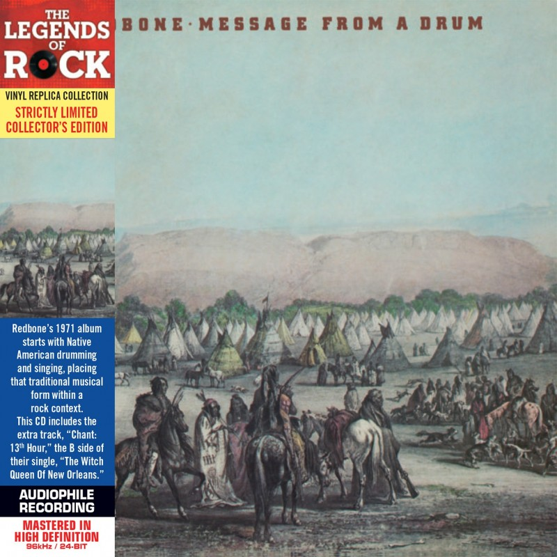Redbone - Message From A Drum / The Witch Queen Of New Orleans