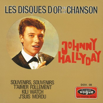 Johnny Hallyday - EP N°14 - Les Disques D'or De La Chanson (CD Vinyl Replica)