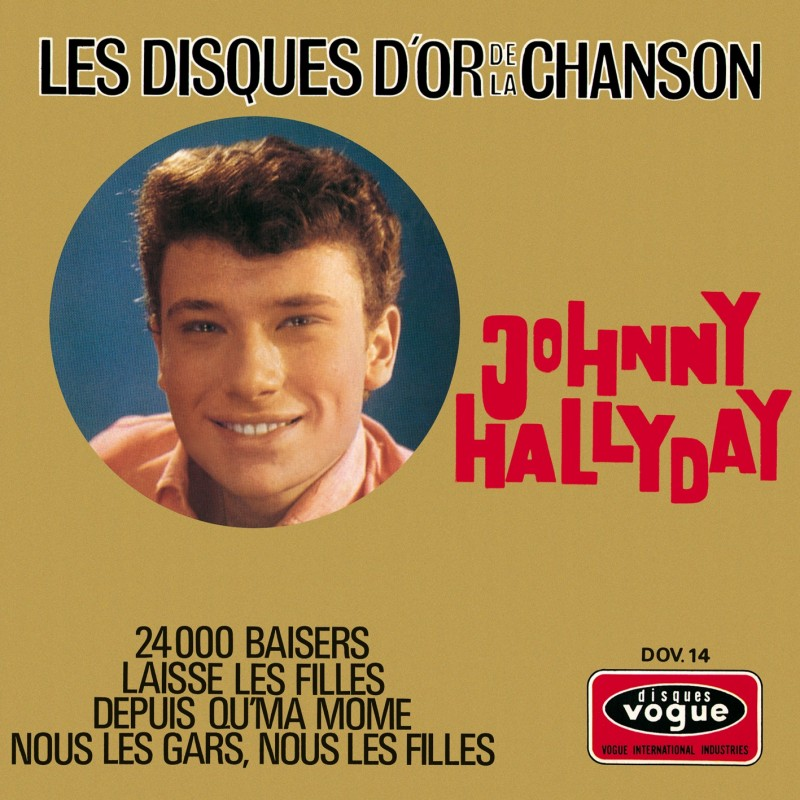 Johnny Hallyday - EP N°15 - Les Disques D'or De La Chanson