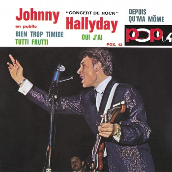 Johnny Hallyday - EP N°13 - Pop 4 - Concert De Rock (CD Vinyl Replica)