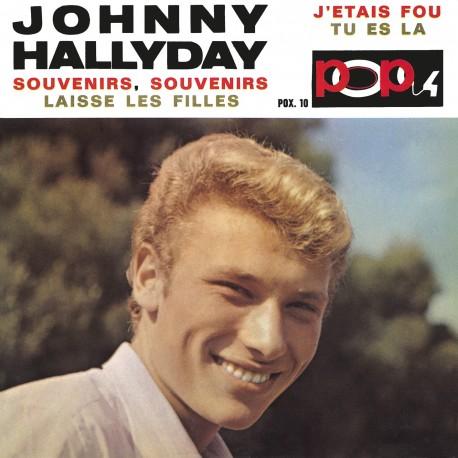 Johnny Hallyday - EP N°12 - Pop 4 - Souvenirs, Souvenirs