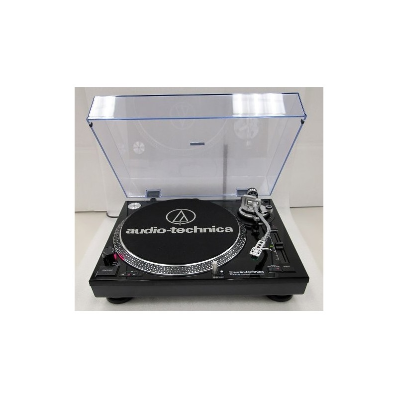 PLATINE 33 Tours Audio-Technica AT-LP120-USB - NOIRE