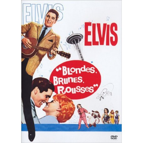 ELVIS PRESLEY  Blondes, Brunes, Rousses  DVD