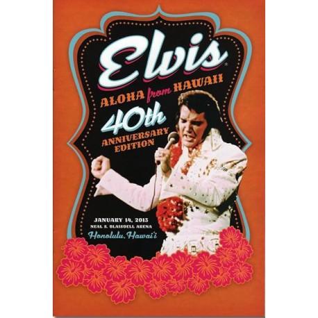 ELVIS PRESLEY Edition 40eme anniversaire Aloha From Hawaii