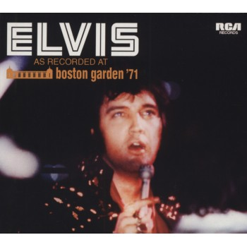 ELVIS PRESLEY AS RECORDED AT BOSTON GARDEN   CD FTD