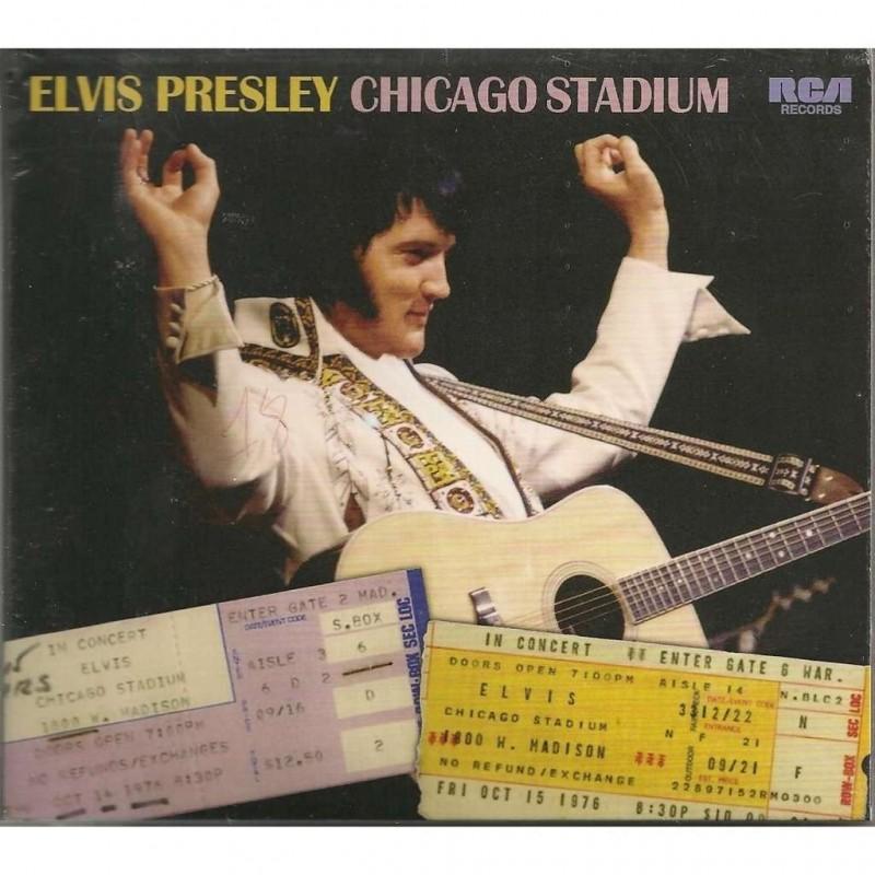 ELVIS PRESLEY CHICAGO STADIUM  CD FTD