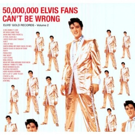 50,000,000 Elvis Fans Can't Be Wrong - Vinyle