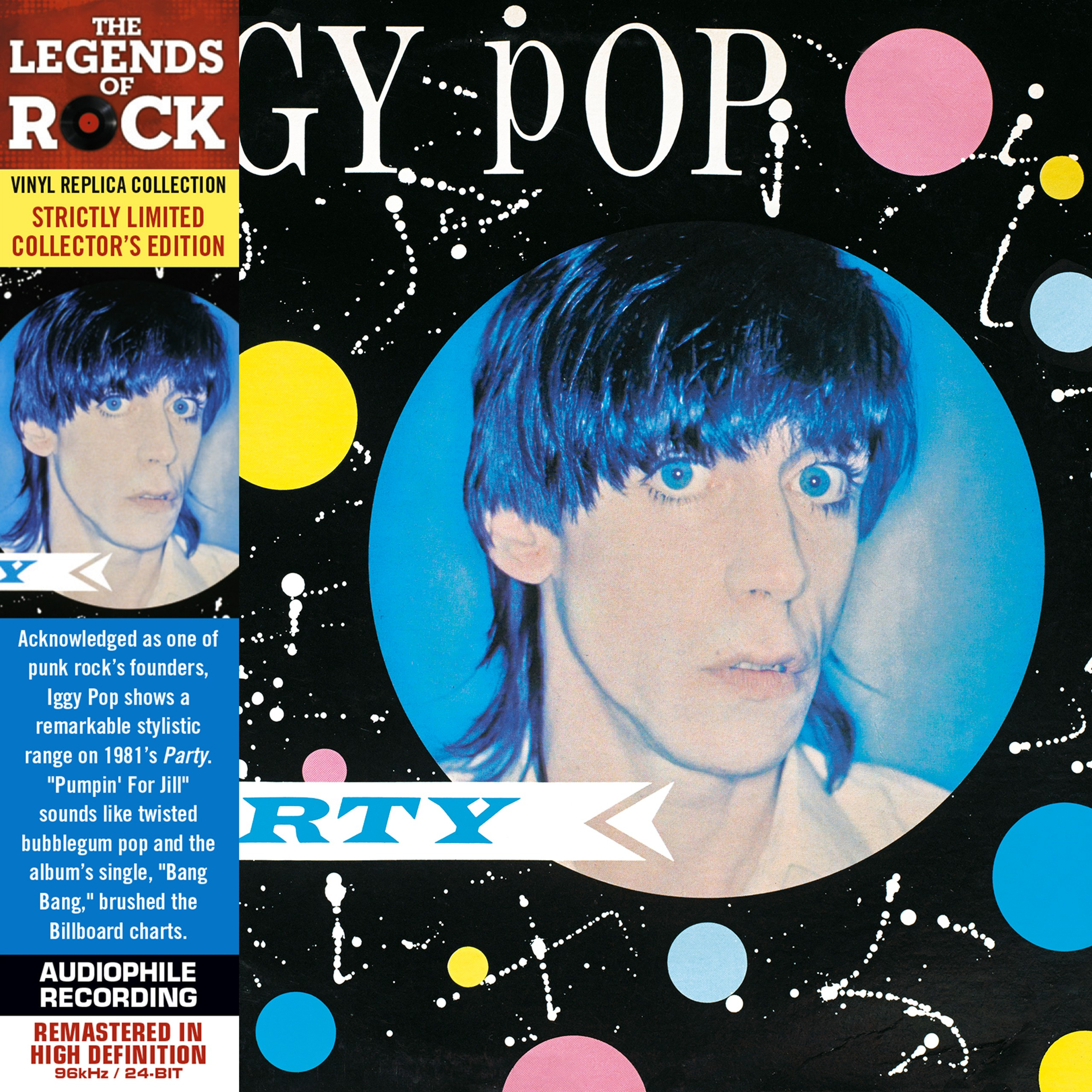 Iggy Pop Album Covers Beautiful cd - iggy pop - party - culture factory