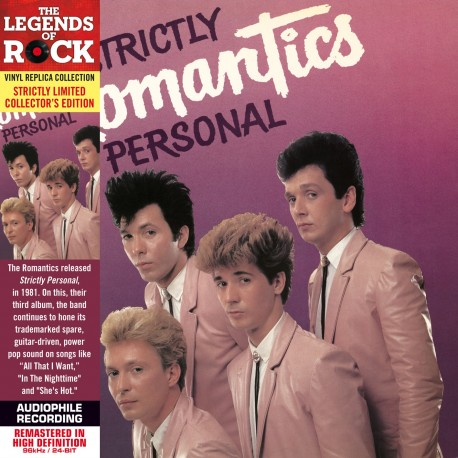 CD - The Romantics - Strictly Personal