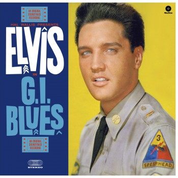 ELVIS PRESLEY G.I. BLUES Vinyle