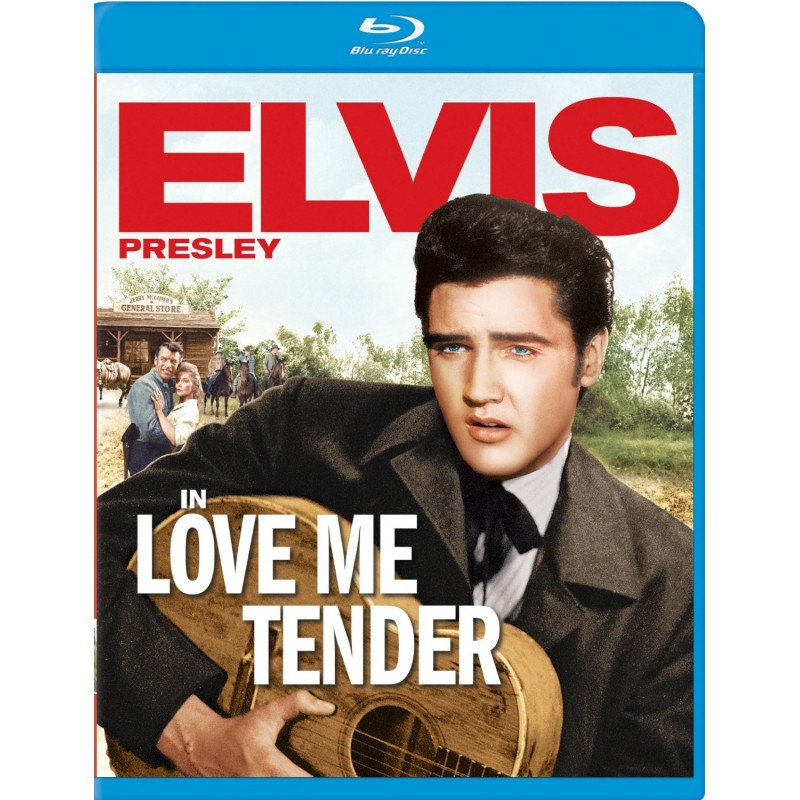 elvis presley love me tender bluray culture factory. Black Bedroom Furniture Sets. Home Design Ideas
