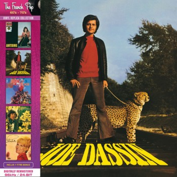 Joe Dassin - La Fleur Aux Dents (CD Vinyl Replica)