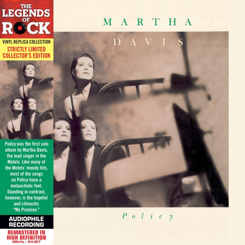 CD - Martha Davis - Policy